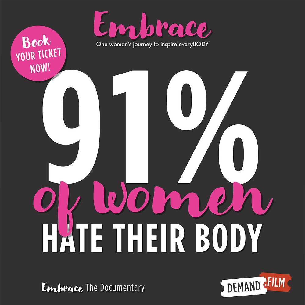 91% of women hate their body