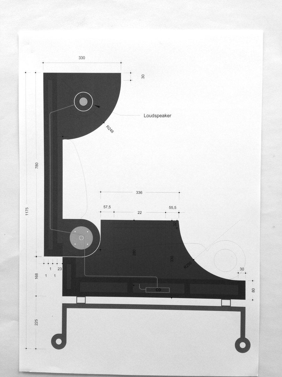 drawing _h.c.andersen stol_