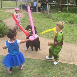 Balloon sword fights are the best #ballo