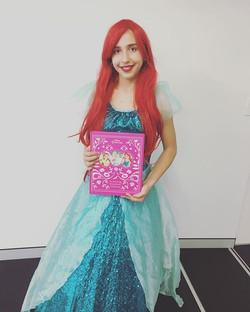 Princess Ariel loves celebrating Hazels