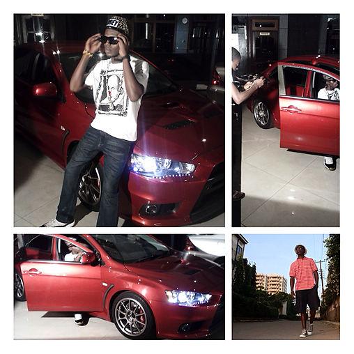 Odinareh Bingwa video Shoot of Paper Video directed by Teknixx.