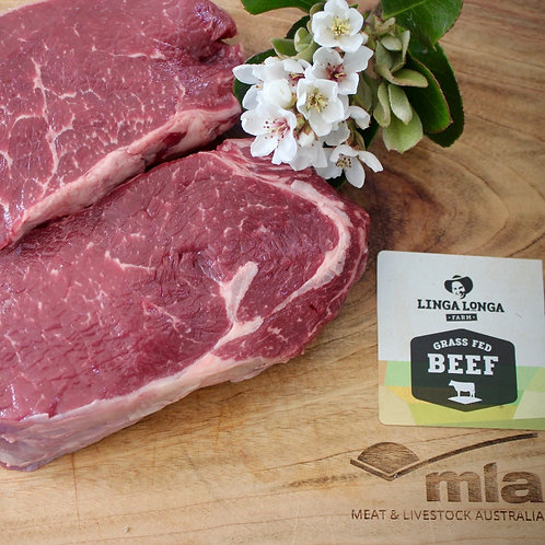 Scotch Fillet - 2 steaks - $54kg