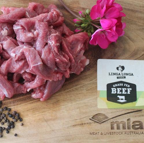 Beef Strips- 600g - $24kg