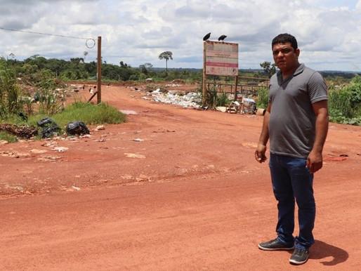 Dignidade aos moradores da comunidade Rei Davi com a mudança do lixão