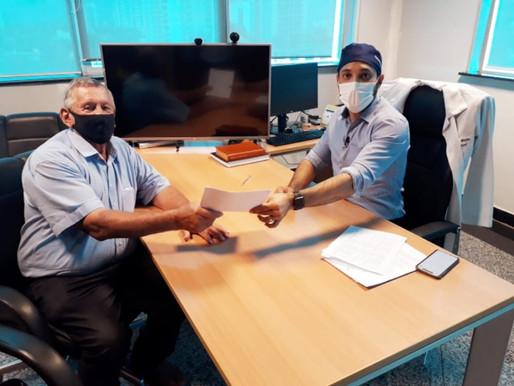 Vice-prefeito de Espigão do Oeste busca apoio do Governo do Estado para Saúde do Município