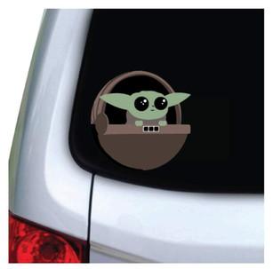 Baby Yoda Car Decal