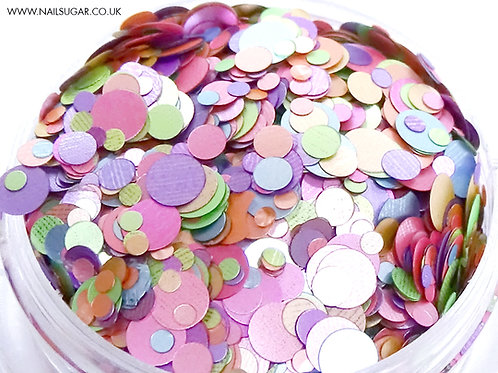 Pastel Dots - Small Pot