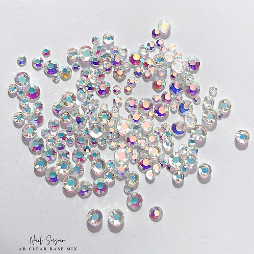 AB Crystals: Clear Base