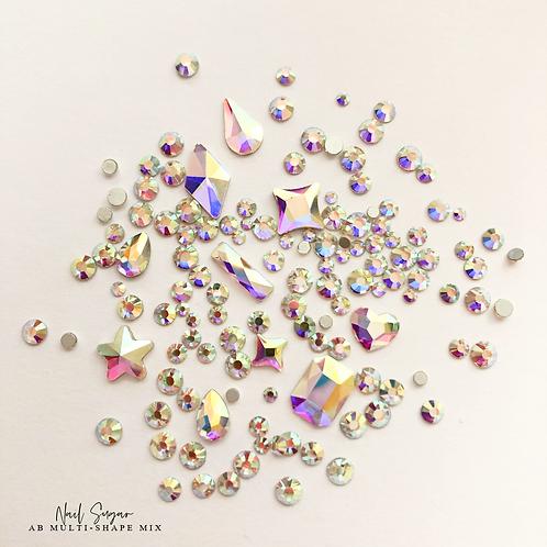Multi Shape AB Crystal Mix