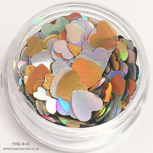 Holo Hearts - Small Pot