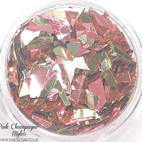 Pink Champagne Mylar - Small Pot