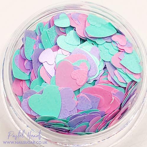 Pastel Hearts - Small Pot
