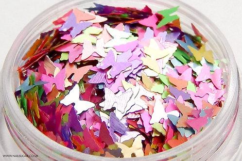 Pastel Butterflies - Small Pot