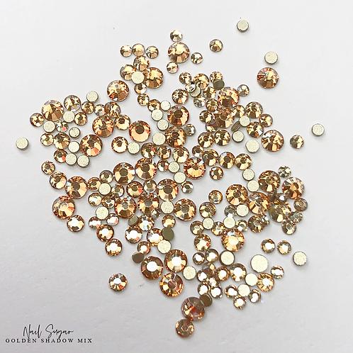 Golden Shadow Crystals