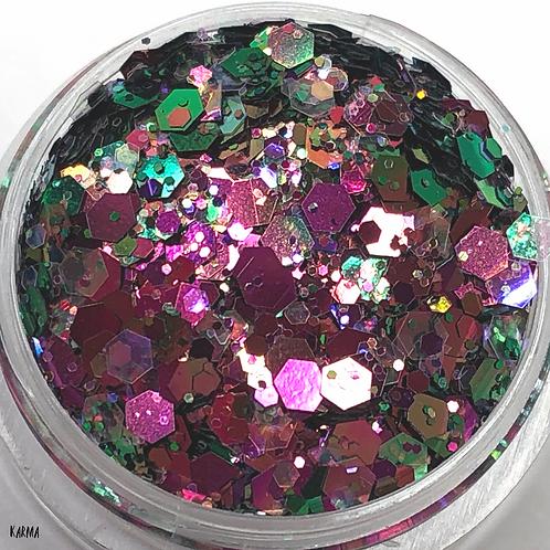 Karma Chameleon Nail Confetti - Small Pot