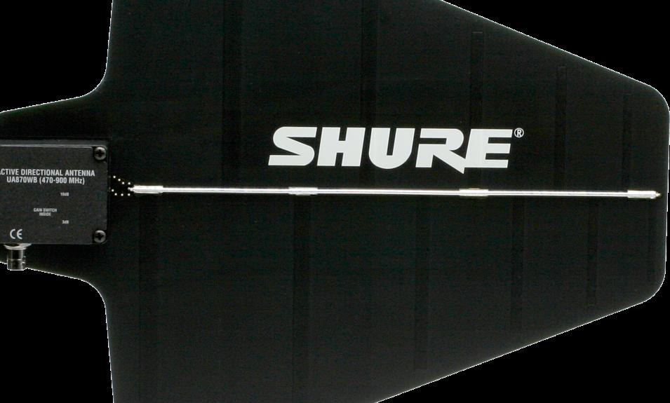 "Richtantenne UHF Aktiv ""SHURE UA870WB"""