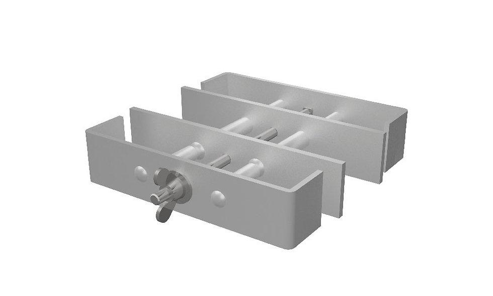 Beinverbindungsklammer Stahl zu BÜTEC