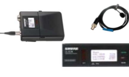 SET: Taschensender UHF (ULX-D) mit Diversity-Empfänger