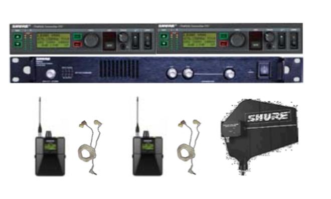 "2er Set InEar-Monitorsystem UHF ""SHURE PSM-900"""