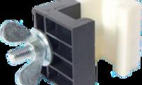 Verbindungsklammer PVC zu BÜTEC