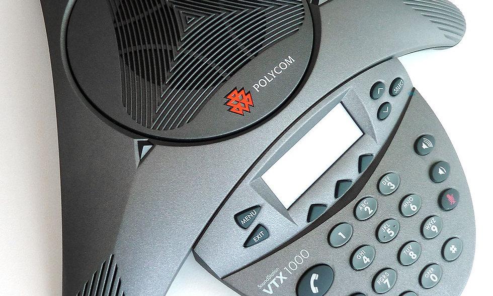 """Telefonkonferenzsystem """"Polycom"""""""