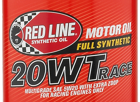 Red Line 20w Race Oil