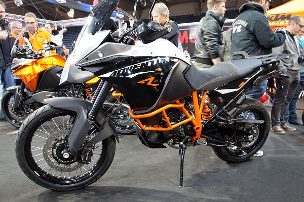 KTM 790 adventure at eicma expo