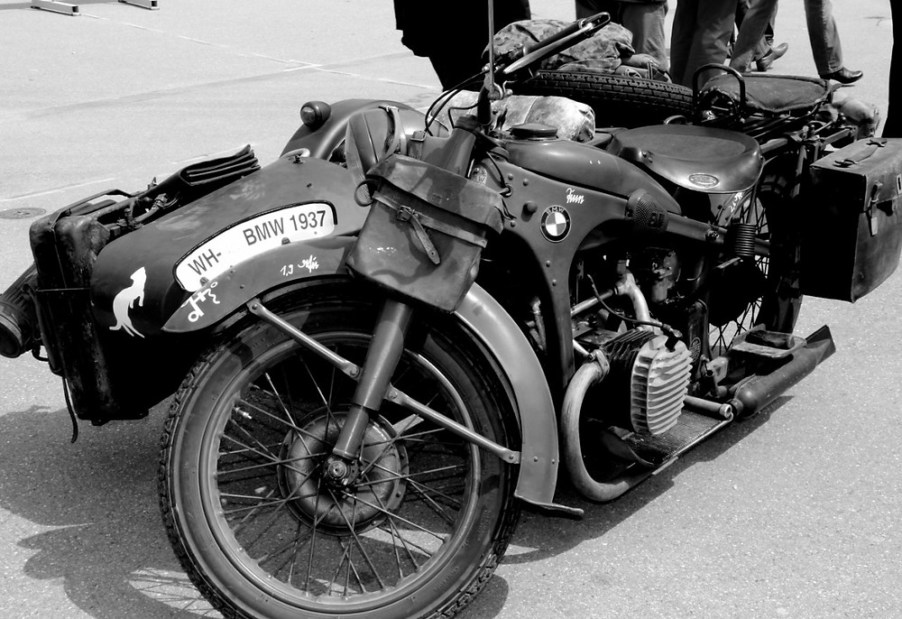 vintage bmw year 1937
