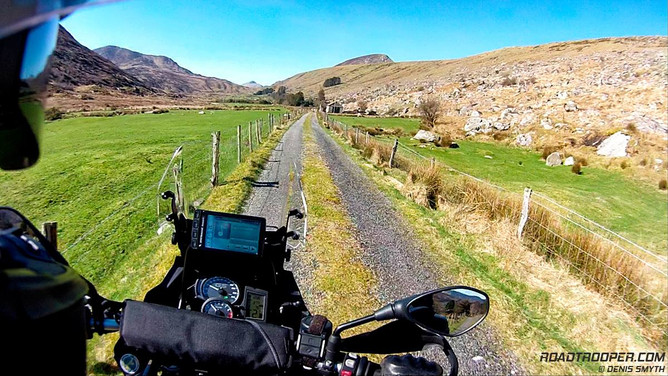 beautiful off road irish routes