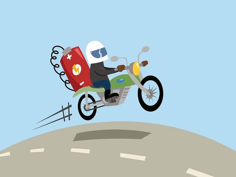 cartoon_of_motorcycle_powered_by_electric_battery_800x600