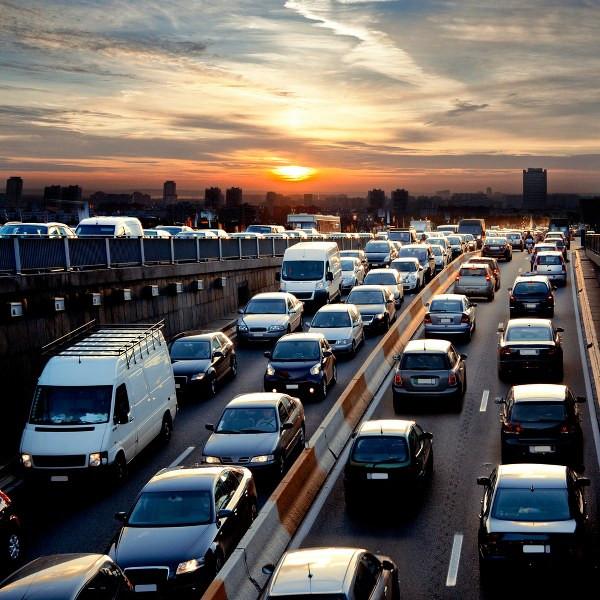 traffic jam with sunset view.jpg