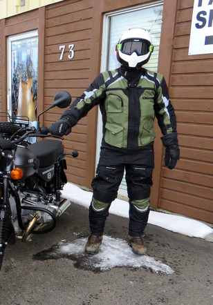 from cold canada with love, a ural and siima sibirsky suit