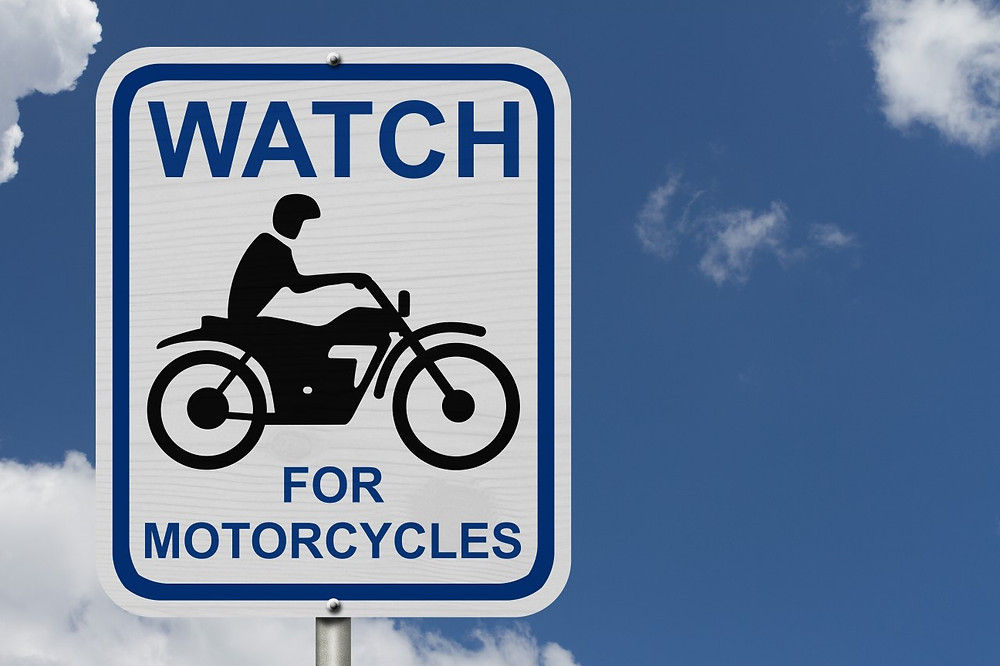 Watch for motorcyclists - Look twice
