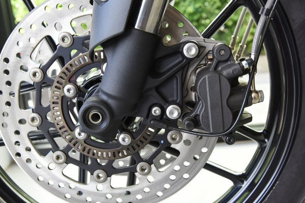 motorbike brake disc with rims