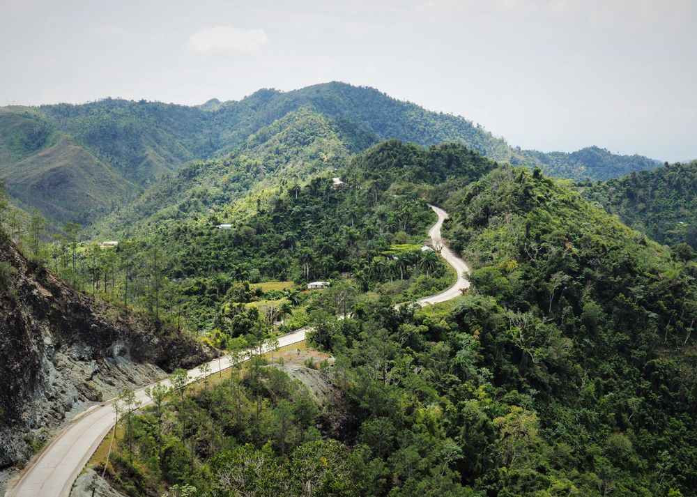 Road to Guantanamo, eastern Cuba