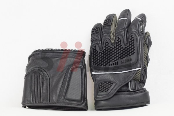 siima sibirsky adventure gloves split knuckle view