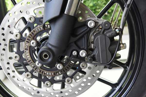 motorcycle wheel with abs brake and disc