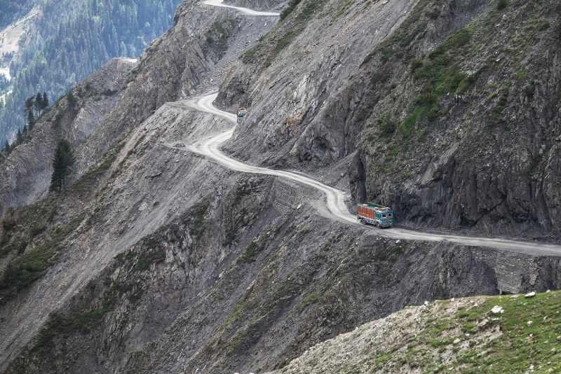 Zoji La Pass in India