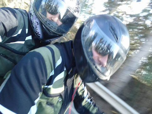 sibirsky jacket for men and women riders on motorcycle