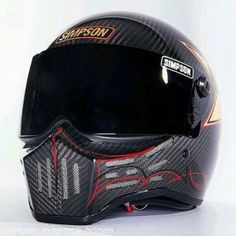 carbon fiber full face motorcycle helmet