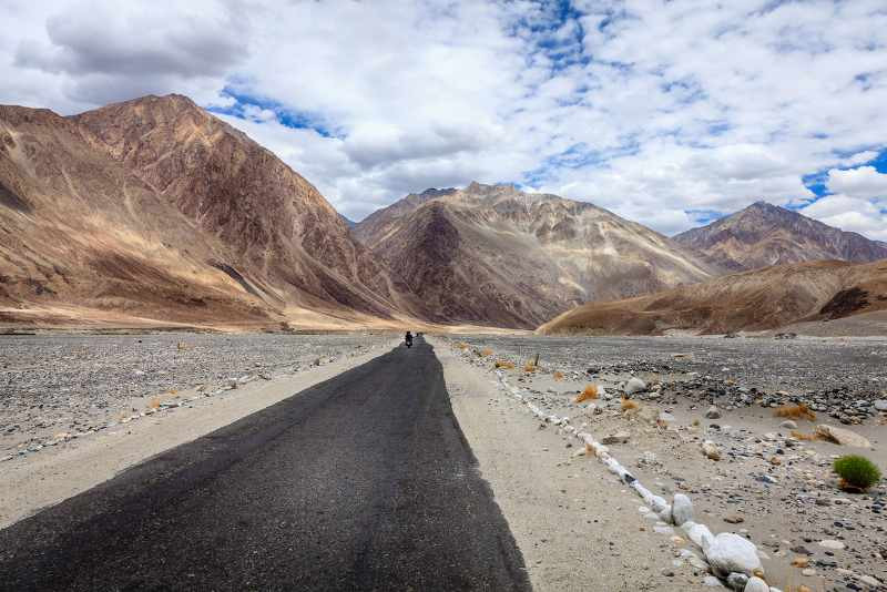 Karakoram Highway Border of China - Pakistan