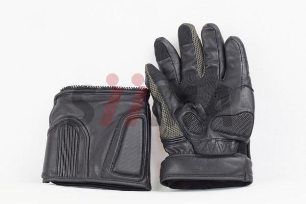 siima sibirsky adventure gloves split palm view