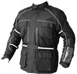 Motorcycle touring jacket by Siima MotoWear. Proper gear for your adenture