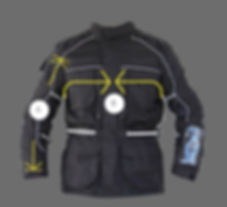 Siima Mountain View Motorcycle Touring Jacket Front