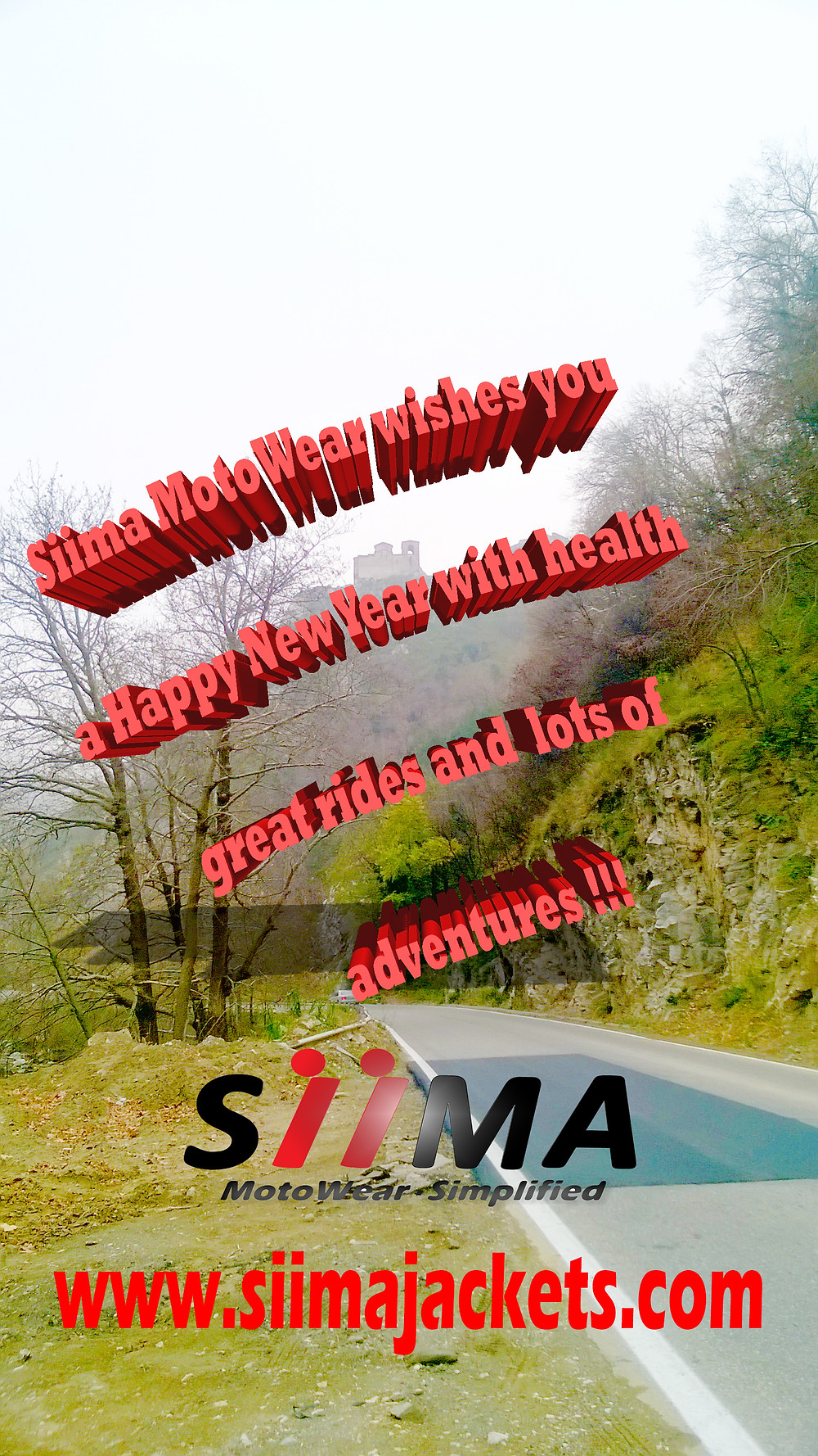 Siima Moto Wear Happy New Year 2014