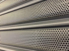 PERFORATED SEE THRU ROLLER SHUTTER