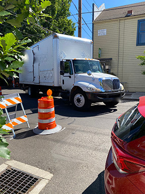 Street barriers installed without public review