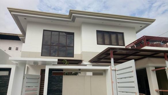 wood laminated uPVC windows