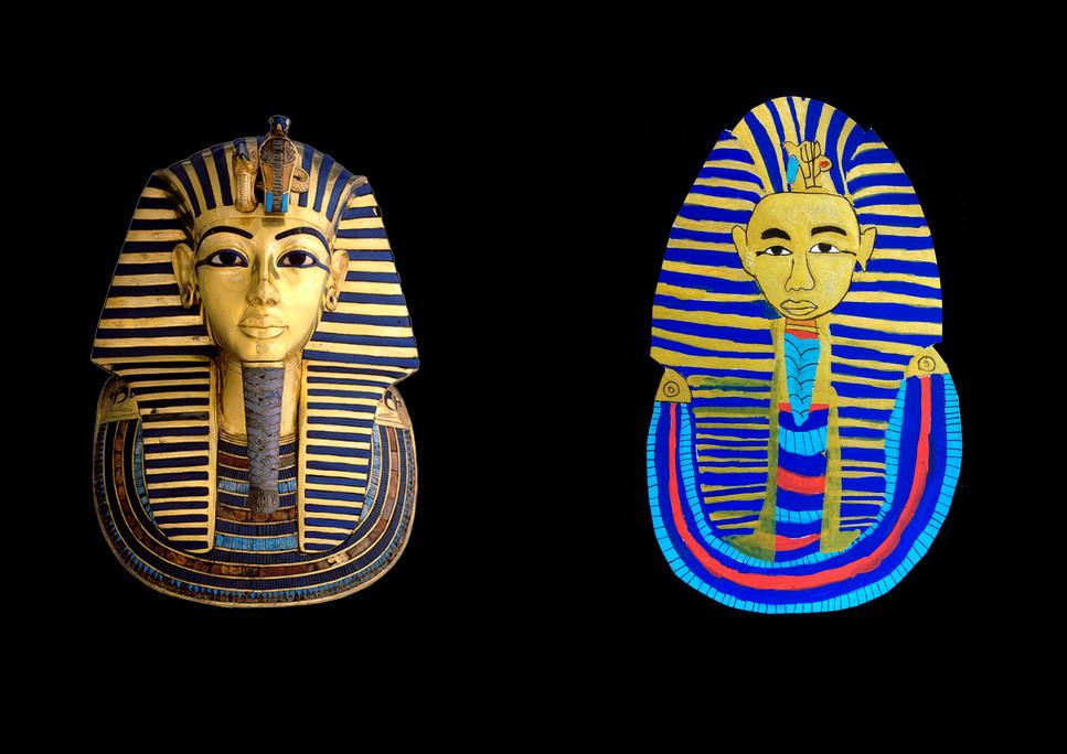 Masque funéraire d'Akhenaton - Jean