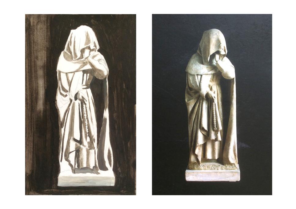 Sculpture médievale - Cécile